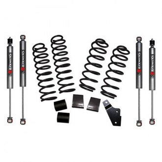 "Skyjacker® - 2.5"" x 2.5"" Rock Ready™ Coil Spring Front and Rear Suspension Lift Kit"