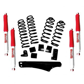 "Skyjacker® - 2.5""-3.5"" x 1.5""-2"" Sport Coil Spring Front and Rear Suspension Lift Kit"