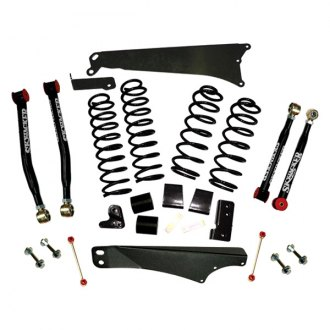 "Skyjacker® - 4""-5"" x 3""-3.5"" Value Flex Series Front and Rear Suspension Lift Kit"