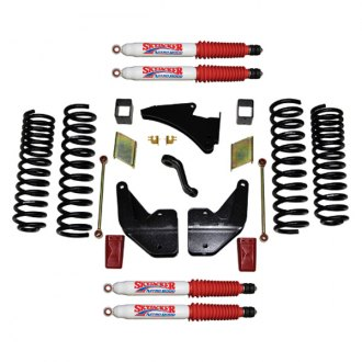 "Skyjacker® - 4"" x 2""-2.5"" Front and Rear Lift Pallet Kit"
