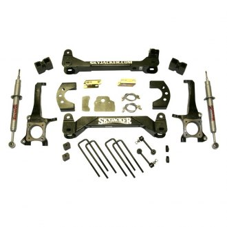 "Skyjacker® - 6"" x 4.25"" Performance Strut Front and Rear Suspension Lift Kit"