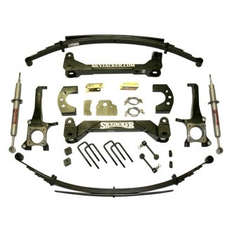 "Skyjacker® - 6"" x 4.25"" Performance Strut Series Front and Rear Suspension Lift Kit"