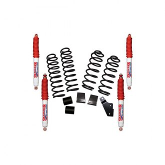Skyjacker® - Rock Ready™ Coil Spring Front and Rear Lift Kit