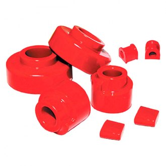 "Skyjacker® - 2.5"" x 2.5"" Polyurethane Value Spacer Front and Rear Lift Kit"