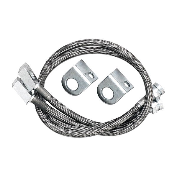 Image may not reflect your exact vehicle! Stainless Steel Brake Lines