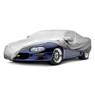 SLP® - Gray Car Cover with SLP Performance logo