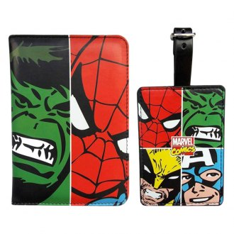 Smart Living® - Marvel Face Off Passport and Luggage Tag