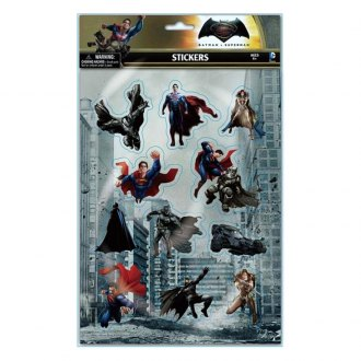 Smart Living® - Batman and Superman Puffy Stickers