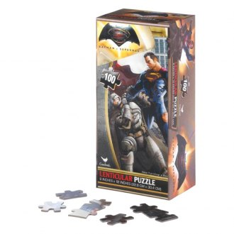 Smart Living® - Batman and Superman Lenticular Puzzle