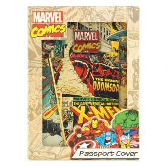 Smart Living® - Marvel Retro Passport Cover
