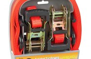SmartStraps® - Heavy Duty Padded Ratchet Tie Downs