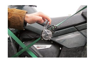 How to Feed the Webbing Through a Ratchet Tie Down