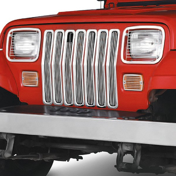 Jeep Wrangler 1987-1995 Chrome Grille