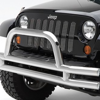 Smittybilt® - Chrome Billet Grille w/o Trim