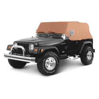 Smittybilt® - Water Resistant Gray Cab Cover Without Door Flap