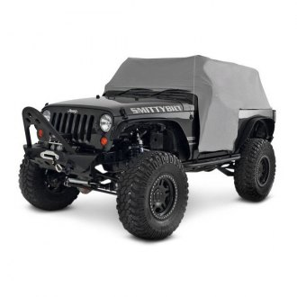 Smittybilt® - Water Resistant Gray Cab Cover