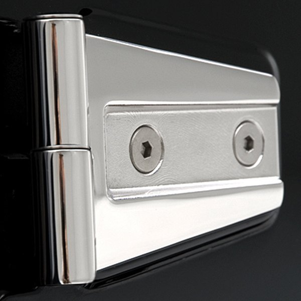 4 Piece Smittybilt 7487 Stainless Steel Door Hinge