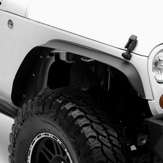 Smittybilt® - XRC Textured Black Front and Rear Fender Flares