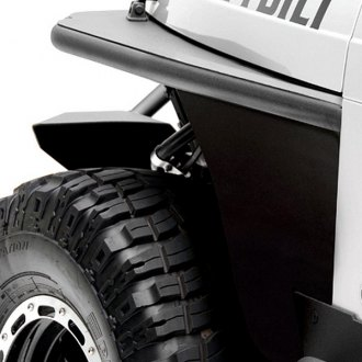 Smittybilt® - XRC Tubular Textured Black Fenders