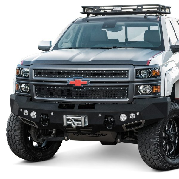smittybilt chevy silverado 1500 2016 m1 full width black front winch hd bumper. Black Bedroom Furniture Sets. Home Design Ideas