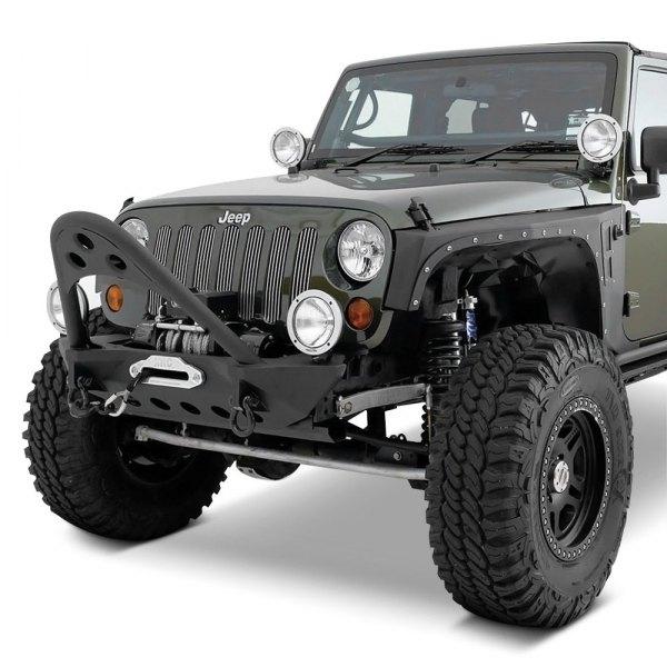 Jeep Wrangler 2013 SRC Stubby Black Front