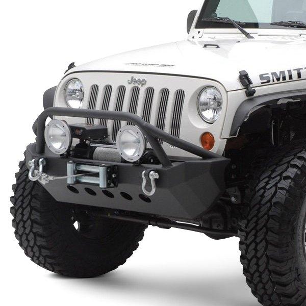 Smittybilt® - Jeep Wrangler JK 2018 XRC Mid Width Black Front Winch