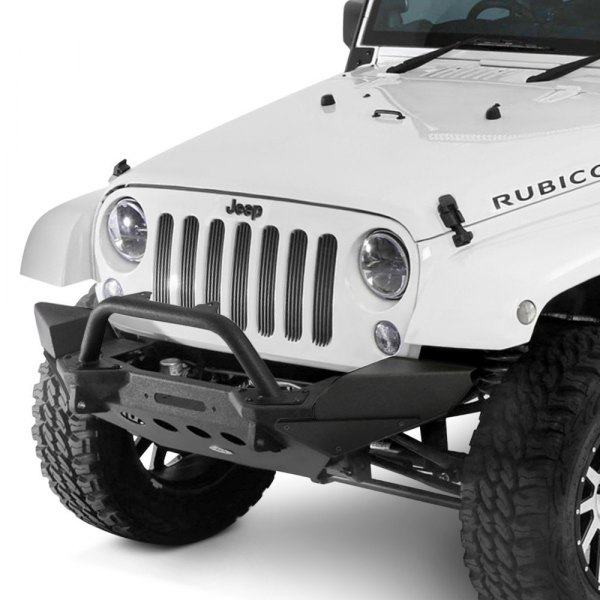 Smittybilt® - XRC M.O.D. Stubby Front HD Black Bumper Image may not reflect your exact vehicle!
