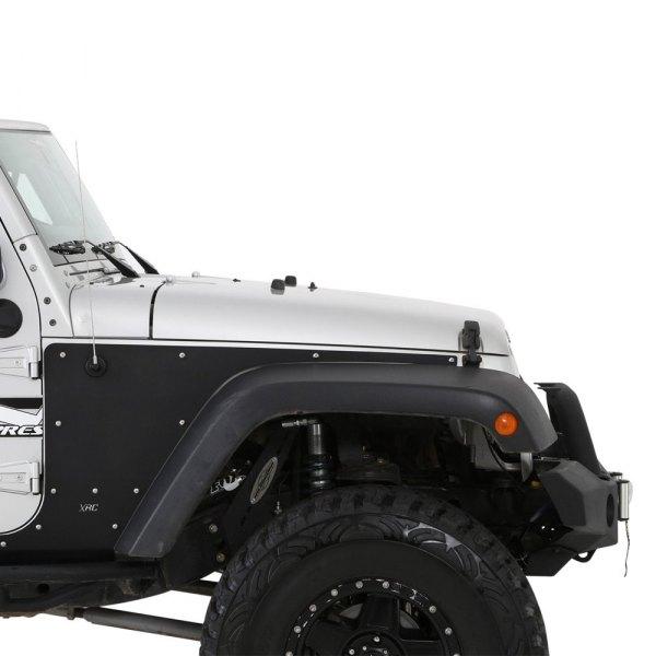 Smittybilt 76981 XRC Armor Black Textured Rear Flat Fender Skin