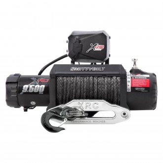 Smittybilt® - XRC Gen 2 Comp Series Winch with Synthetic Rope and Aluminum Fairlead