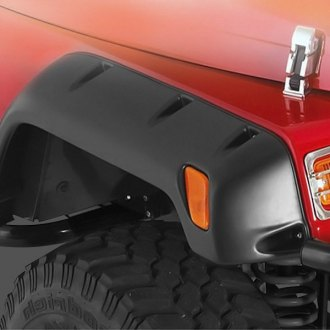 "Smittybilt® - 6"" Wide Textured Black Fender Flares Kit"