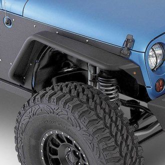 Smittybilt® - XRC Flux Tubular Textured Black Fender Flares