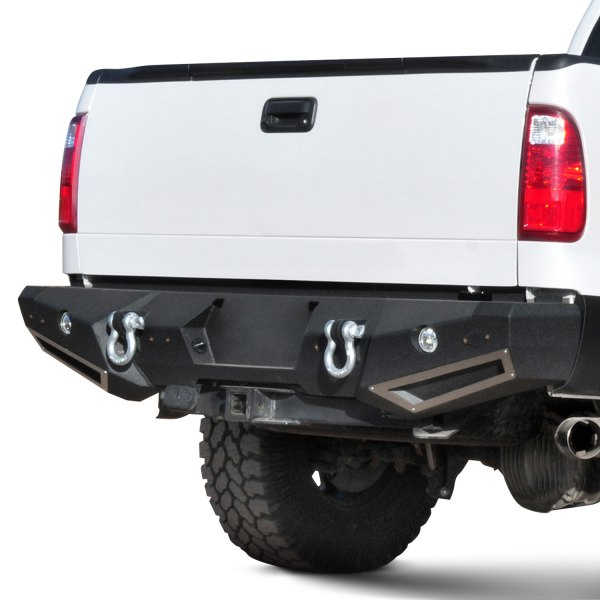 Smittybilt® - M1 Full Width Rear HD Black Bumper Image may not reflect your exact vehicle!