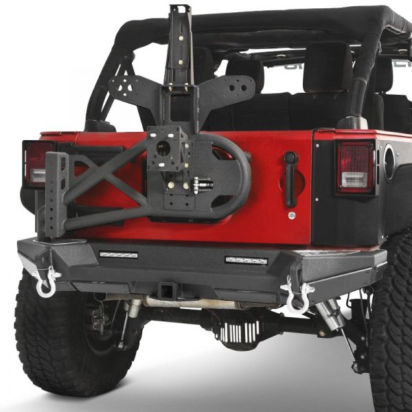 Smittybilt® - XRC Gen2 Lite Texture Rear Bumper Image may not reflect your exact vehicle!