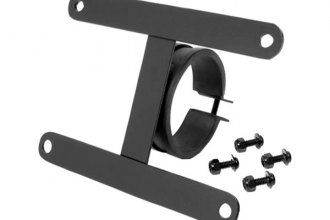 "Smittybilt® 4430 - License Plate Bracket For 3"" Tubular Bumpers"