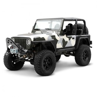 Smittybilt® - SRC Stubby Front HD Bumper with Stinger