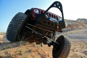 Smittybilt® - SRC Textured Black Stinger With Built In Winch Plate