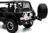 Smittybilt® - XRC Textured Black Bumper With Hoop