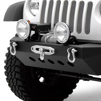 Smittybilt® - SRC Classic Textured Black Bumper With D-Ring