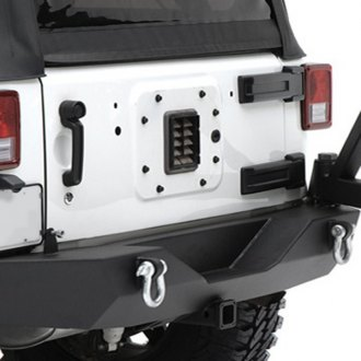 Smittybilt® - XRC Textured Black Bumper With Hitch, without Tire Carrier