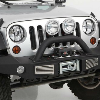 Smittybilt® - XRC Atlas Full Width Front HD Winch Bumper with Hoop