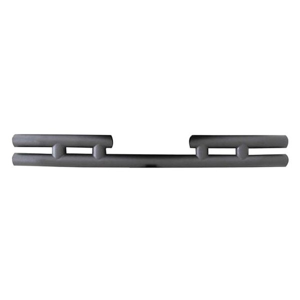 Smittybilt® - Textured Black Double Tubular Bumper Without Hitch