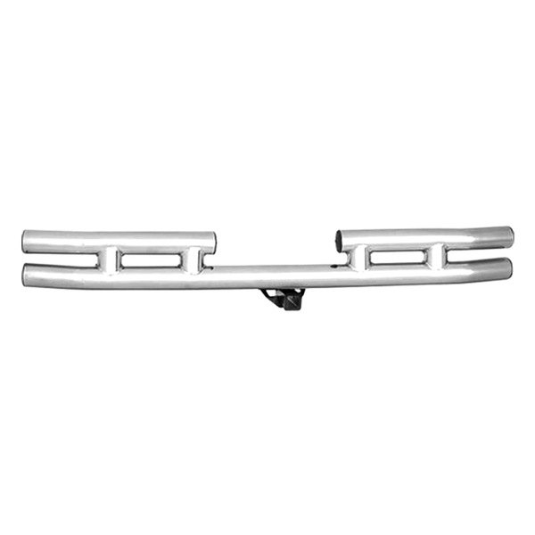 Smittybilt® - Stainless Steel Tubular Bumper With Hitch