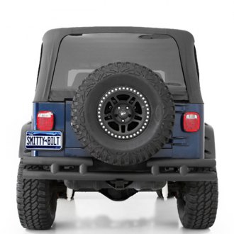Smittybilt® - Textured Black Rear Filler Plate