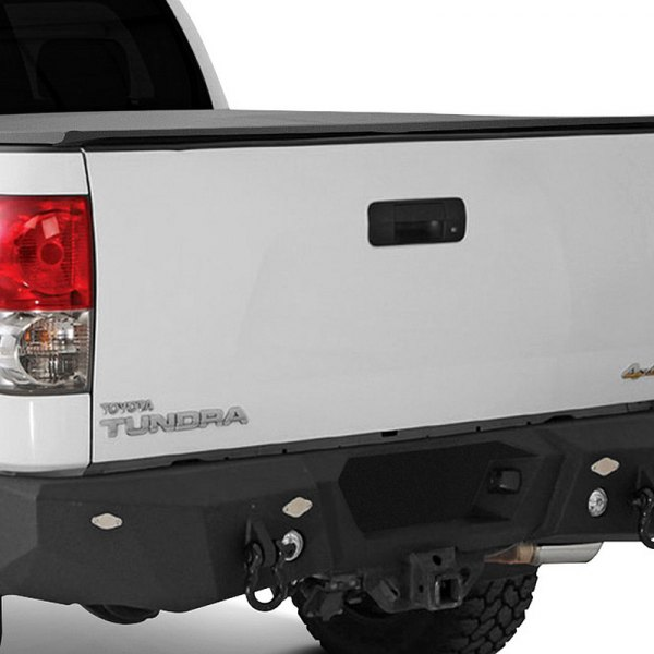 Image may not reflect your exact vehicle! Smittybilt® - M1 Rear Truck Bumper on Toyota Tundra