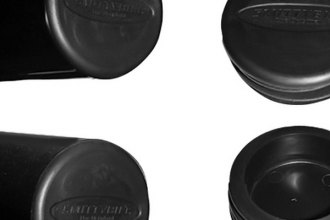 "Smittybilt® TA25 - Black 3"" Tube Bumper End Caps"