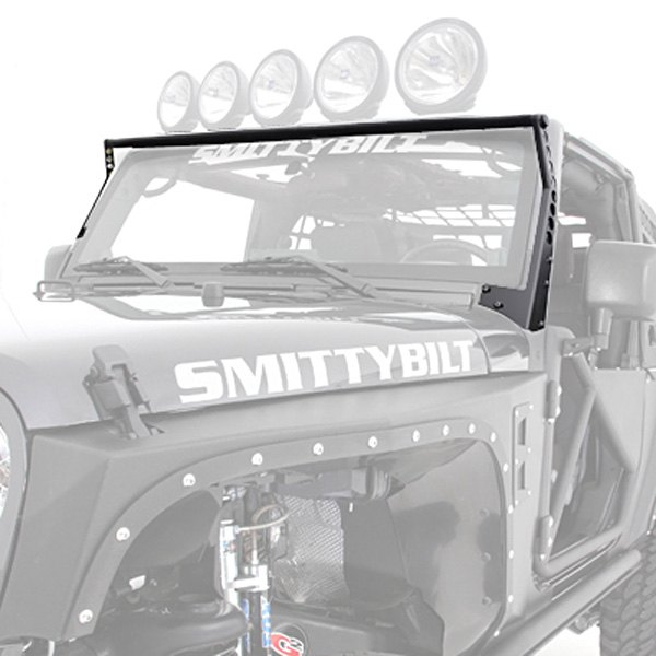 Smittybilt xrc windshield light bar aloadofball Image collections