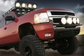 Image may not reflect your exact vehicle! Smittybilt® - Street Light Bar on Ford F-150 (Lights Not included)
