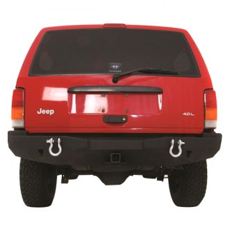 Smittybilt® - XRC Full Width Rear HD Bumper with Hitch