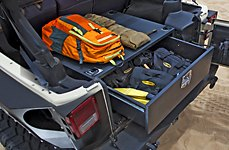 Smittybilt® - Rear Lockable Storage Box
