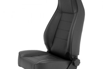 Smittybilt® - Factory Style Replacement Vinyl Black Front Seat with Recliner